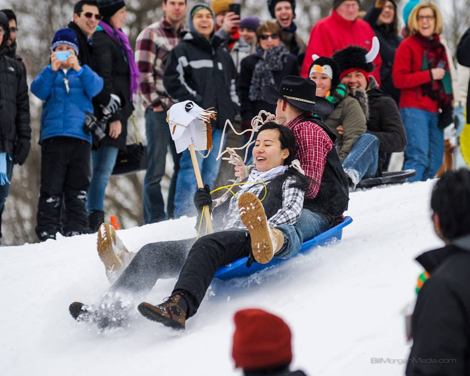 3rd Annual Hartford Art Sled Derby